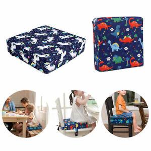 Baby Kinder Sitzerhöhung Esszimmerstuhl Stuhlpolster Stuhl Zunehmendes Kissen DE