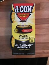 D-Con No View, No Touch Mechanical Mouse Trap (2-Pack) 1920082043 - 1 Each
