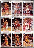 1993 Futera Australia Basketball Cards NBL Trading Cards Base Set (110)