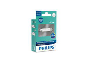Philips 11864ULWX1 - Ultinon LED Festoon 43mm LED 12V White fits Audi A3 1.4 ...