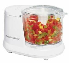 Durable Mini 1.5 Cup Food Processor & Vegetable Chopper White