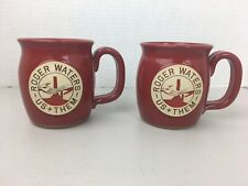 Roger Waters Us and Them Tour VIP Stoneware Mug Pink Floyd Set Of 2