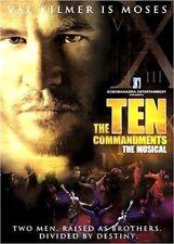 THE TEN COMMANDMENTS THE MUSICAL VAL KILMER LES 10 COMMANDEMENTS CHOURAQUI DVD