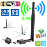 600Mbps Wireless USB WiFi Adapter Dongle Network LAN Card 802.11b/g/n W/ Antenna