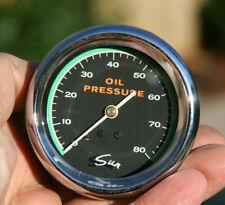 Aurora Instruments GAR25ZEXJABBE American Retro Rodder Red Oil Pressure Gauge