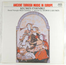 VASSEGHI CLEMENCIC KECSKES - Ancient Turkish Music ... - LP Hungaroton SLPX12560
