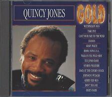 QUINCY JONES / GOLD * NEW CD 1993 * NEU *