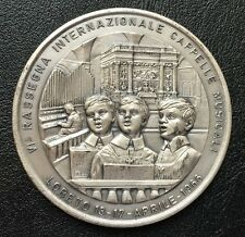 Italy Loreto 6th International Musical Choral Festival 1966 rare medal / M78