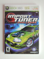Import Tuner Challenge Game in Case! XBOX 360