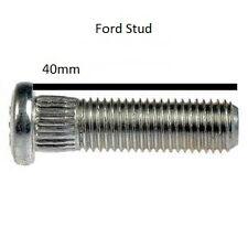 1x Ford Wheel Stud 40mm, M12x1.5 13mm Spline Fiesta ST RS Focus Mondeo