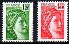 France 1980 Sabine N° 2101 2102