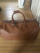 LANCEL Paris cuir Holdall voyage week-end Grip Sac Bandoulière