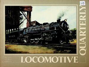 DR143 LOCOMOTIVE  QUARTERLY FALL 1976 VOL 1 NUMBER 1  L&N COMMUNIPAW'S SOJOURNER