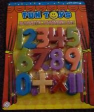 NUMBERS*MAGNETIC LEARNING SET*FRIDGE MAGNET*LEARN*EDUCATIONAL*NEW