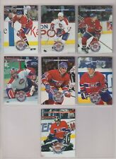 1996-97 Donruss Montreal Canadiens Complete Team Set (7)