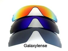 Galaxy Replacement Lenses For Oakley Radar Path Black&Blue&Red Polarized 3Pair