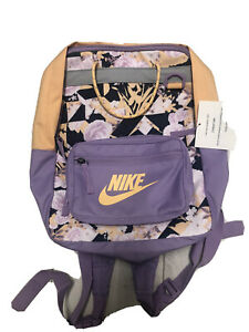 Nike Backpack New With Tags. Violet Star / Orange Chalk Colour