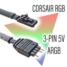 Corsair RGB to Standard ARGB3-pin 5V Adapter MALE/FEMALE
