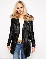 River Island Women's Knee Length Casual Zip Coats & Jackets
