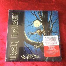 IRON MAIDEN FEAR OF THE DARK sealed RARE US cd mini replica LP CK 86037