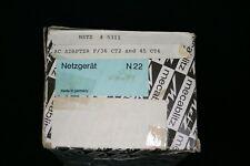 Metz ac adaptor for metz 45 ct4 or 36  CT2 metz 5311 n22 ac new old stock
