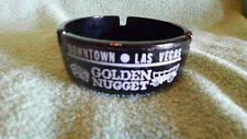 Golden Nugget Downtown Las Vegas Black Ashtray, Gambling Hall