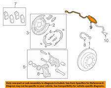 TOYOTA OEM 07-16 Tundra ABS Anti-Lock Brakes Rear-Sensor Wire 895160C050