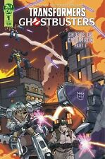 IDW Transformers & Ghostbusters #1 Comic Book [Cover A]
