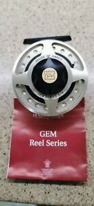 HARDY GEM SERIES 5/6 FLY FISHING REEL UNUSED + HARDY Case, box and line.