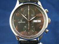 Junghans Chronoscope Chronograph Automatic Watch 027/4553, Swiss Valjoux 7750