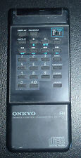 Onkyo Cd Tape remote control Rc-147C