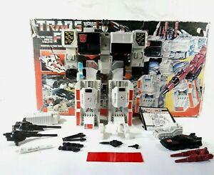 Vintage Transformers Autobot Battle Station Metroplex Hasbro 1985 NOT Complete