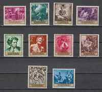 SPAIN (1968) MNH - SC SCOTT 1512/21 FORTUNY PAINTINGS