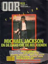 MAGAZINE OOR 1983 nr. 18 - MICHAEL JACKSON/STEVIE RAY VAUGHAN/ANVIL/DICK MAAS