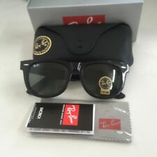NEW Ray-Ban Wayfarer RB2140 901 54mm Lens Black Frame Sunglasses With Box