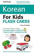 Tuttle Korean for Kids Flash Cards Kit (Tuttle Flash Cards), Armitage, Laura, Ac