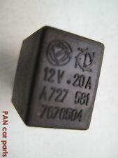 Fiat Relais 7676504, A727 12V 20A, 581