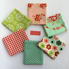 Handmade Bonnie And Camille Fat Quarter Bundle 6FQs Moda Quilting Cotton Fabric