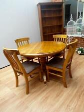 Solid Wood Dining Furniture Sets with 5 Pieces