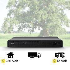 LG Blu-ray-Player mit HDMI, USB, 12 + 230 Volt für Wohnmobil, Camping, Boot etc.