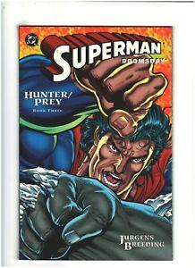 Superman/Doomsday: Hunter/Prey #3 NM- 9.2 DC Comics 1994 Dan Jurgens