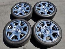 "20"" Rolls Royce Ghost chrome 7-spoke Alloy OEM factory wheels rims wraith 21"