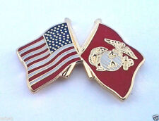 USA  AMERICAN  US MARINES FLAG (SMALL)  Military Veteran Hat Pin P14810-2 EE
