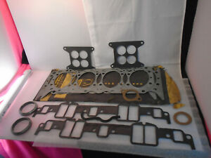 """NOS 1961-65 Chevy Impala SS Biscayne 409 425Hp Head & Intake Gasket GM """"READ"""""""