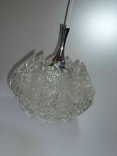 70er Acryl HÄNGELAMPE Deckenlampe Pendellampe flower power 70s pendulum lamp