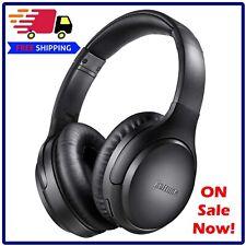 Boltune BT-BH010 Bluetooth Wireless Active Noise Cancelling Headphones - Black