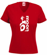 Fruit of the Loom V Neck Graphic T-Shirts for Women
