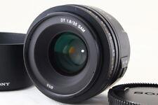 SONY DT 35mm F1.8 SAM SAL35F18 for A mount α MINOLTA W/Hood from Japan