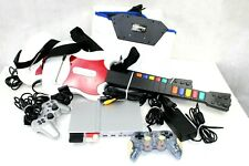 Play Station 2 console 9 games 2 controllers dance pad and all cords      GAM7