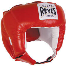 Cleto Reyes amateur de boxeo Headgear-Rojo